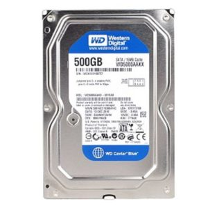 Disque Dur HD 500 Go 3.5″ WD  Blue 7200 RPM